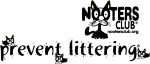 Prevent littering logo