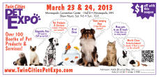 $1 off admission to the Twin Cities Pet Expo