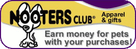 Earn money for C-Snip with your purchase from NOOTERS CLUB®!